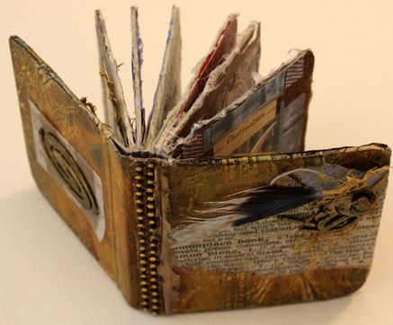 beautiful handmade book by Gail Coito