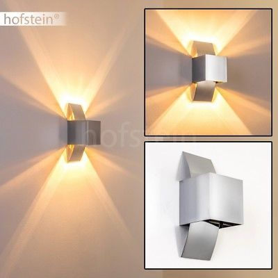 Außen LED Wand Spot Strahler Lampe UP & DOWN Beleuchtung