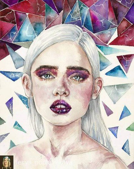 Photography Arte Portrait Backgrounds 53 New Ideas Portrait Art Drawings Watercolor Art