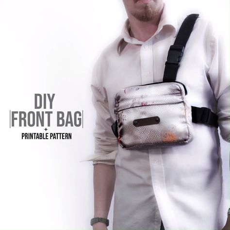 Official Chest Bag DIY + Pattern Click the link to download the pattern today! #... #Bag #chest #click #DIY #download #link #official #pattern #today