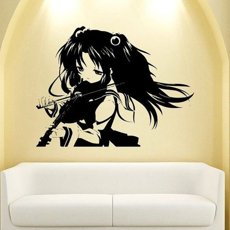 anime manga wall decal vinyl sticker decor girlstickerluck