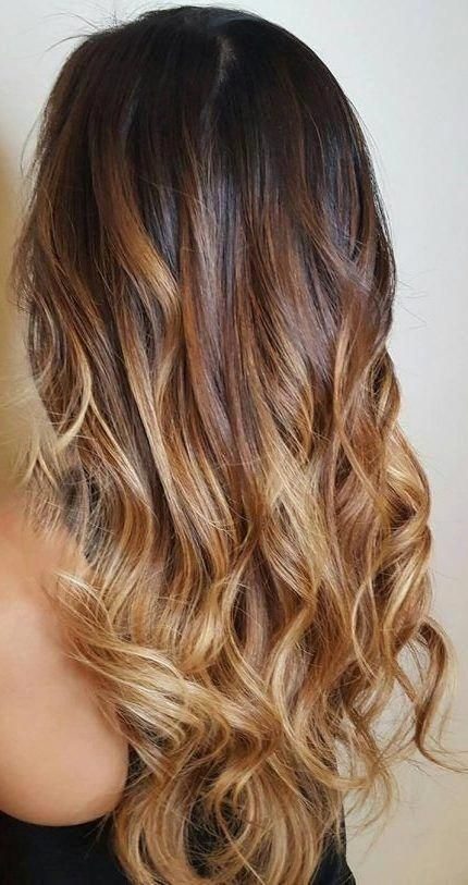 45 Dark Brown To Light Brown Ombre Long Hair Color Ideas Hair Colour Style Brownombrehair Darkbrownhair In 2020 Long Hair Color Long Hair Styles Hair Styles