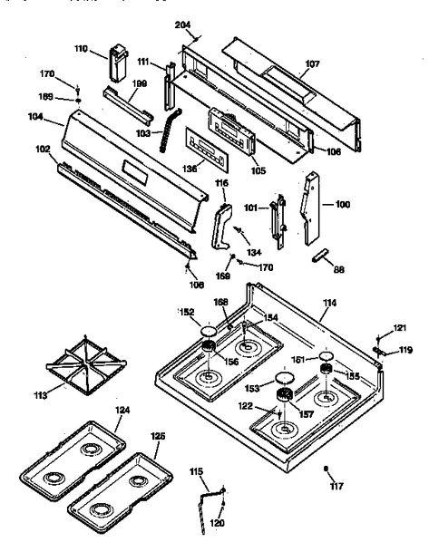 Ge Spectra Xl44 Parts : spectra, parts, Wiring, Diagram, Pinto, Ballast, Resistor, Schematics