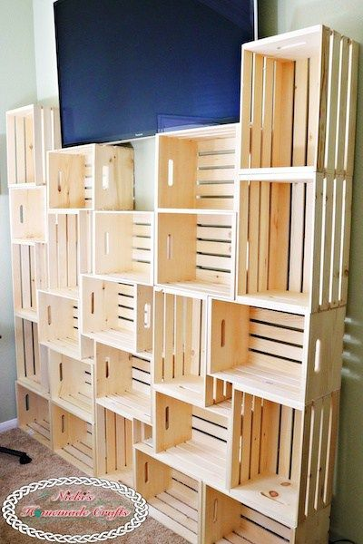 How To Create A Diy Yarn Storage Shelving Unit Best And Cheap