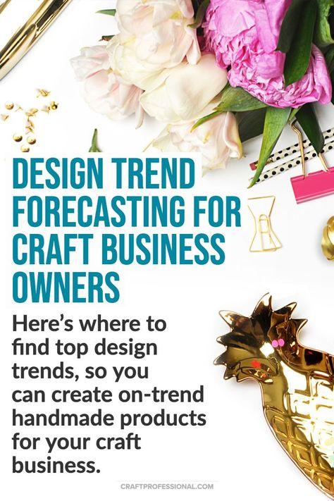 Retail, Decor & Fashion Trend Forecasting for Creative Entrepreneurs