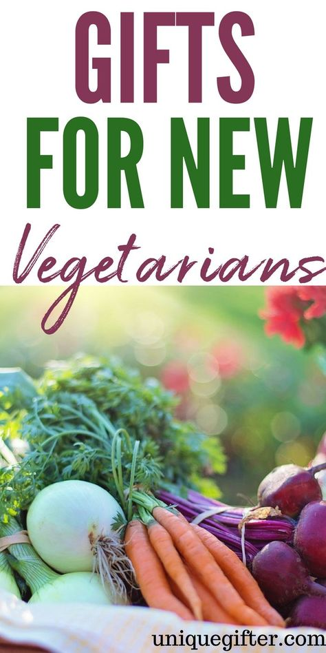 What to buy for a new vegetarian | Newly Vegetarian Gift Ideas | Presents for a