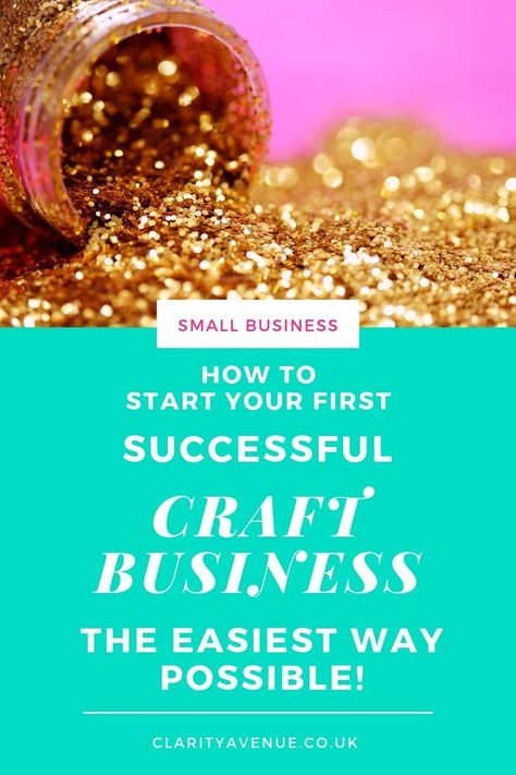 From hobby to home business - the things you need to consider before starting a craft home business to ensure your success and profits. What does starting a business really look like? A real-life tutorial for what it looks like when you start a craft business. So, you have decided to start your own home-based craft business? You obviously love what you do and want to turn your hobby into a business and want to share it with others. #startabusiness #smallbusinesstips #entrepreneurship