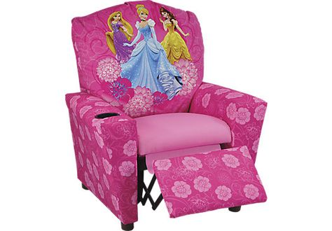 Shop for a Disney Princess Recliner at Rooms To Go Kids. Find  that will look great in your home and complement the rest of your furniture.