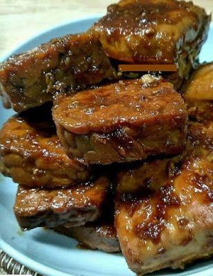 Resep Bacem Tempe Tahu : resep, bacem, tempe, Bacem, Tempe, Resep, Masakan,, Resep,, Masakan