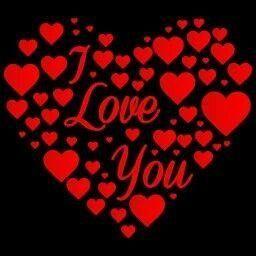 Ich liebe dich mit meinem ganzen herzen