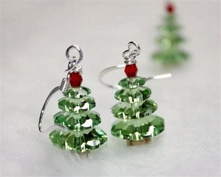 Image Result For Christmas Jewelry Ideas Christmas Jewelry Christmas Tree Earrings Christmas Earrings