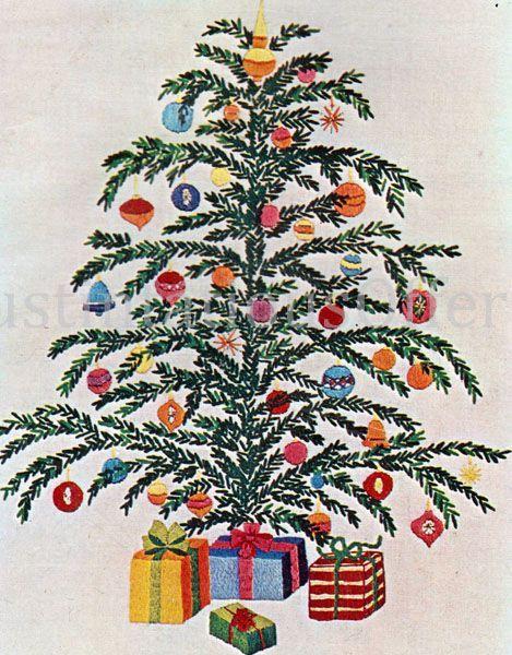 Christmas Tree Hand Embroidery Kit Winter Christmas Etsy In 2020 Christmas Embroidery Christmas Diy Kit Hand Embroidery Kit