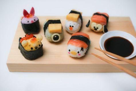 Disney Tsum Tsum Inspired Sushi