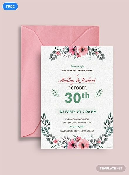 Free Wedding Dj Party Invitation