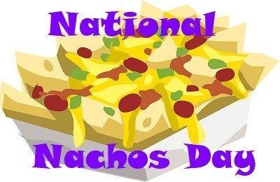 Nachos Day Saxophone Day Nachos National Nacho Day Saxophone