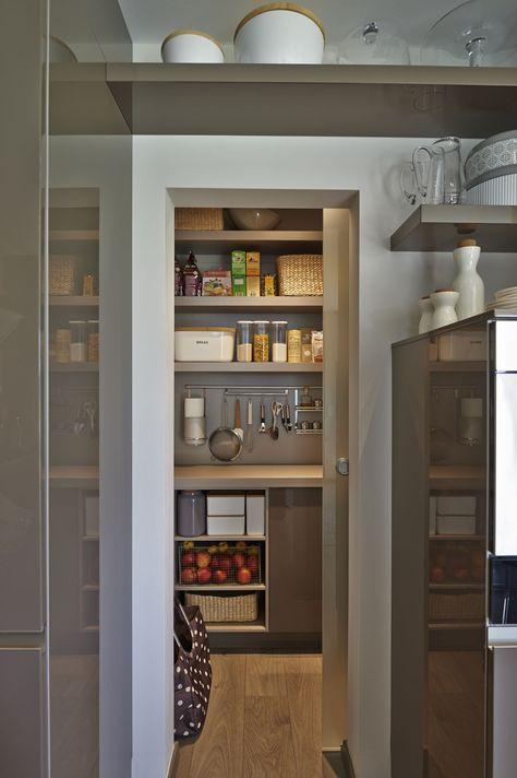 Küche mit kleiner Speisekammer Küchen Pinterest Speisekammer - wohnideen unter dach