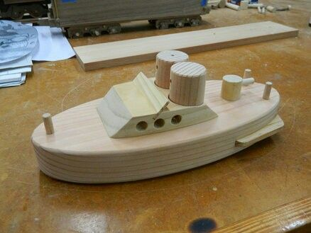 wooden toy boat - Google Search | игрушки | Pinterest | Wooden toys ...