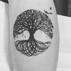 Yggdrasil Tattoo Klein Yggdrasil Tattoo Norse Tattoo Circular Tattoo Designs