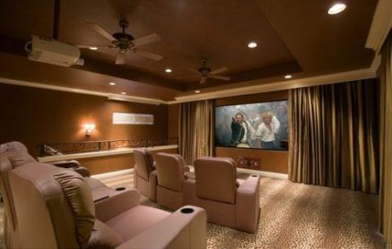 53 Trendy Ideas For Projector Screen Curtain Man Cave Home