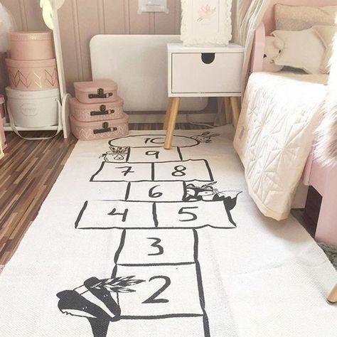 Linen Kids Play Mat