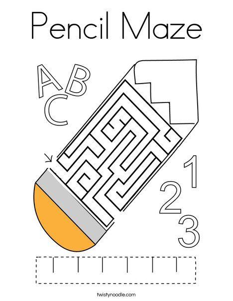 Twisty Noodle Free Printables Designs Trend