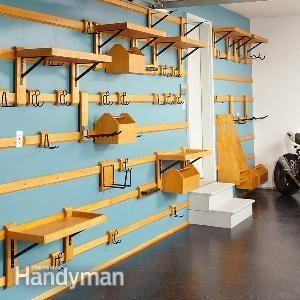 Customizable Garage Storage | The Family Handyman