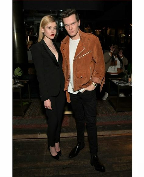 @kat.mcnamara and @lukebaines at @instylemagazine and @motownrecords Badass Woman Event!