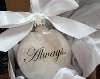 Spouse Memorial Ornament In Memory of Christmas Ornament | Etsy