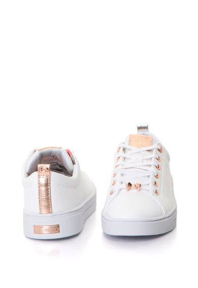 Bőr sneakers cipő dekoratív masnival Ted Baker   Ted baker