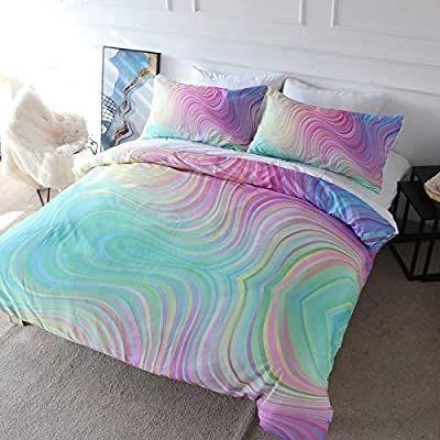 blessliving colorful glitter bedding