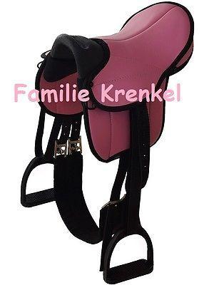 Sattel Fur Holzpferd Pink 12 Neu Sattelset Shetty My Little Pony Holzpferd Pferd Holzpferd Garten