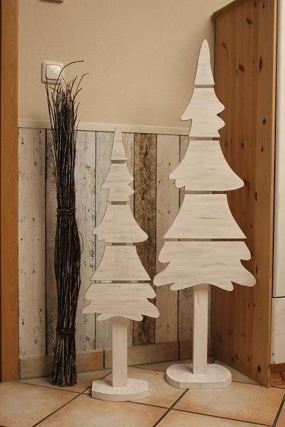 Christmas Trees Weihnachten Holz Holzdeko Weihnachten Holzdeko