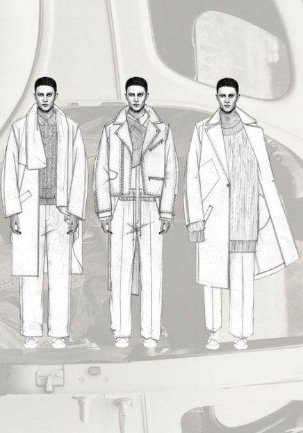 Fashion design sketchbook menswear 32 Ideas