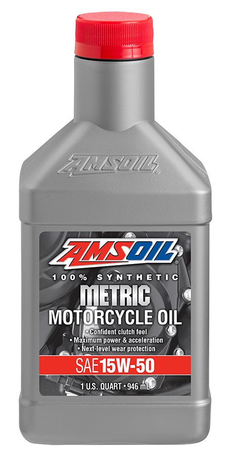 See Amsoil 15w 50 Synthetic Metric Motorcycle Oil Mff A