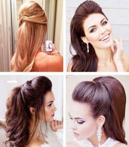 Hairstyles Ponytail Homecoming 36 Ideas Prom Hair Updo Elegant Peinados Hair Styles Ponytail Hairstyles