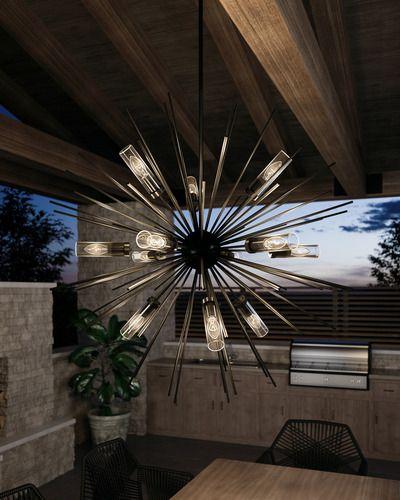 Hilo Chandelier Outdoor Chandelier Outdoor Lighting Modern Pendant Light Fixture