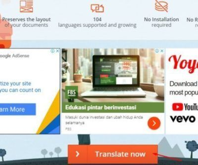 Ini Dia Aplikasi Penerjemah Dokumen Online Otomatis Aplikasi Pendidikan Tahu