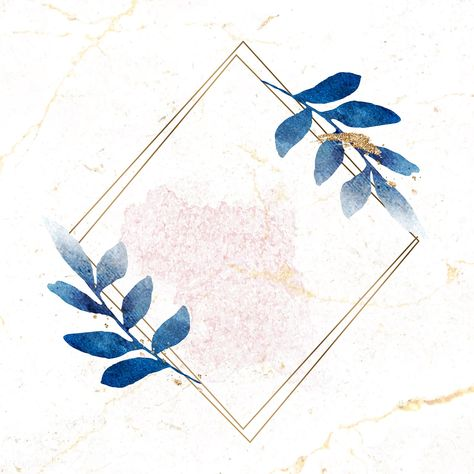 Christmas golden rectangle frame on marble background vector   premium image by rawpixel.com / Adj