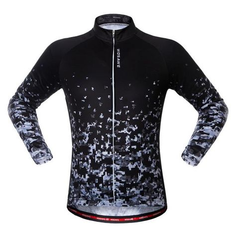 5abfc71dc WOSAWE Men Women Cycling Jerseys Autumn Sports Wear Long Sleeved Shirts  Summer Reflective Jacket UV Protection Riding Clothing