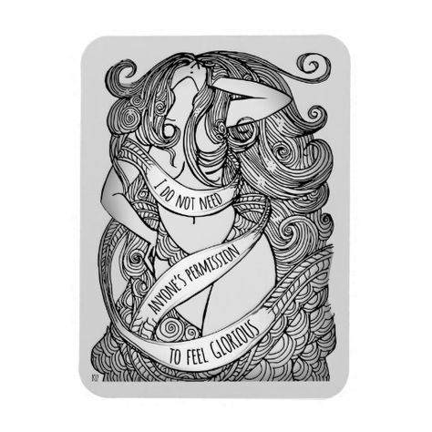 Glorious Magnet in Grey - This is Not a Diet - it's your life.