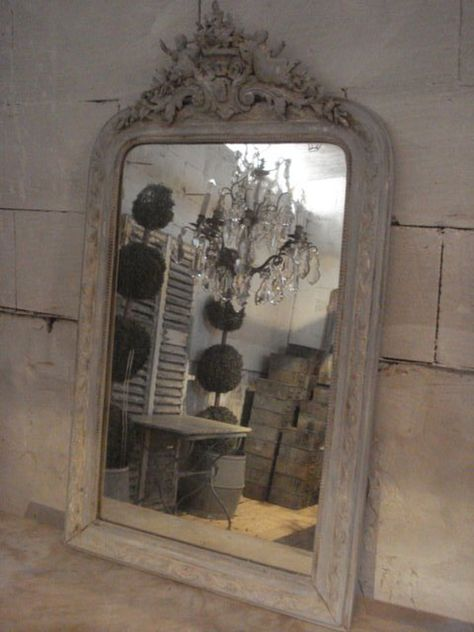 Fabulous French mirror - perfect for that chateau!