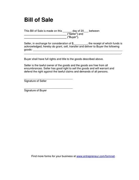 Free Oklahoma Boat Bill of Sale Form PDF Word (doc) melissa - Boat Bill Of Sale