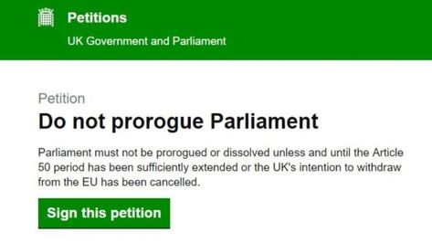 Date set for parliamentary debate surrounding anti-prorogation petition | Latest Brexit news and top stories | The New European