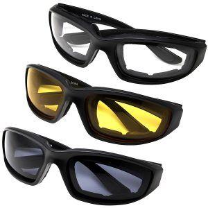 Motorcycle Biker Riding Glasses Wind Resistant  Dustproof Sunglasses Goggles