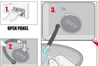 كيفية فتح باب الغسالة الاتوماتيك سامسونج الذي لا يفتح Samsung Washer Washer Paneling