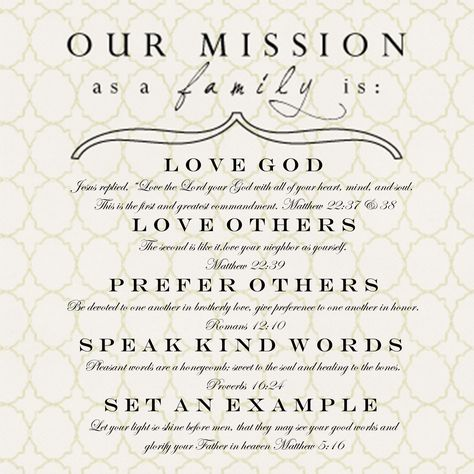 Our marriage mission Marriage❤ Godu0027way Pinterest Married life - fresh 6 personal mission statement example