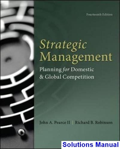 Strategic Management Planning for Domestic and Global