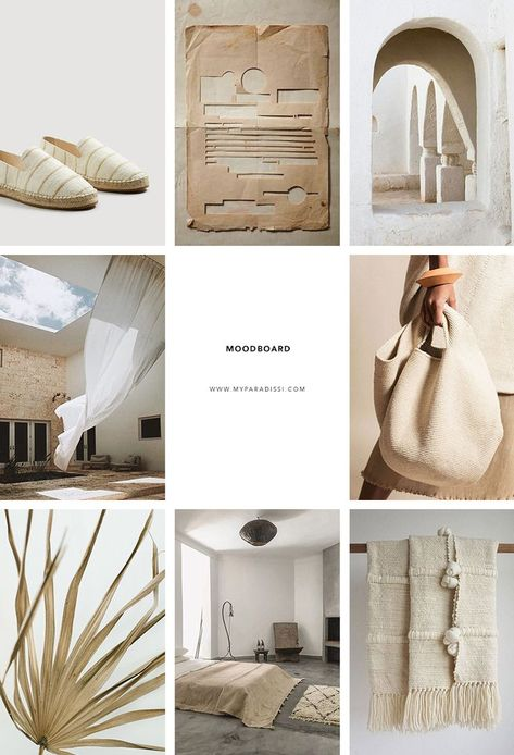NgLp Designs shares the Inspiration Moodboard curated by Eleni Psyllaki for My Paradissi ///