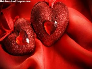 Free Diamond Red Hearts Wallpapers Diamond Red Hearts Pictures