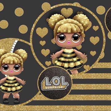 Painel Lol Surprise G Frete Gratis No Elo7 Atelier Toque Final B295ed Festa De Boneca Painel Festa Infantil Decoracao Festa Infantil